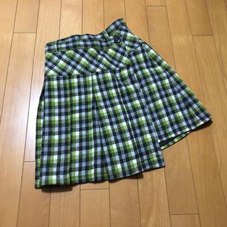 ベベ(BeBe)のBEBE☆べべ☆巻きスカート風☆チェックスカート☆150cm(スカート)