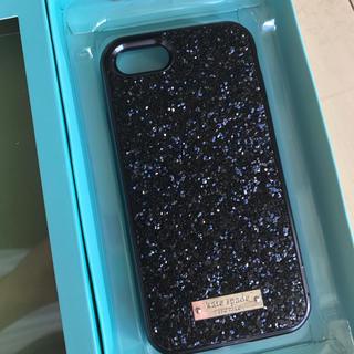 kate spade new york - ケイトスペード iPhone7/8 キラキラblack