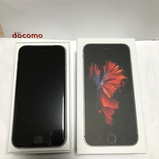 アイフォーン(iPhone)のiPhone 6s 32GB スペースグレイ 新品未使用 ドコモ SIMフリー済(スマートフォン本体)