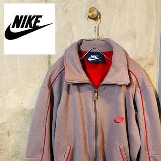 ナイキ(NIKE)の【80's 90's古着】ナイキ NIKE トラックジャケット グレー(ブルゾン)