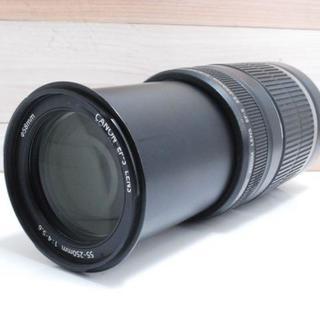 キヤノン(Canon)の★美品★ Canon EF-S 55-250mm F4-5.6 IS(レンズ(ズーム))