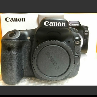 キヤノン(Canon)のCANON EOS 80D ボディ EOS(デジタル一眼)