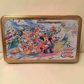 Disney - ディズニーシー 35周年 グランドフィナーレ お菓子缶 クッキー 新品未開封