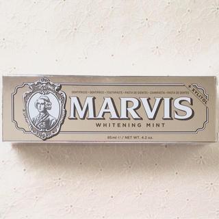 新品☆マービス MARVIS 歯磨き粉 85ml ホワイトミント