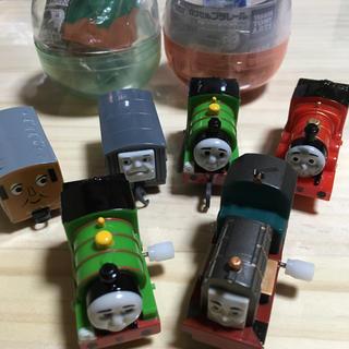 タカラトミーアーツ(T-ARTS)のトーマスカプセルプラレールフランキージェームスパーシーまとめて(電車のおもちゃ/車)