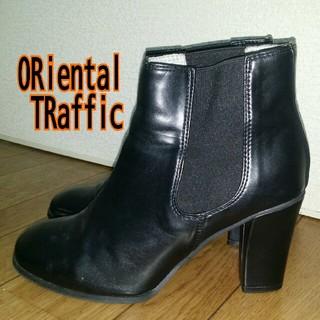 オリエンタルトラフィック(ORiental TRaffic)の👢 ORiental TRaffic  サイドゴア ショートブーツ(ブーツ)