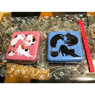 KALDI - カルディ ネコの日 黒ネコミニ缶 三毛ネコミニ缶 飴 猫 ねこ キャンディ