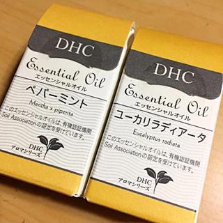 ディーエイチシー(DHC)のDHC エッセンシャルオイル 2点セット(エッセンシャルオイル(精油))