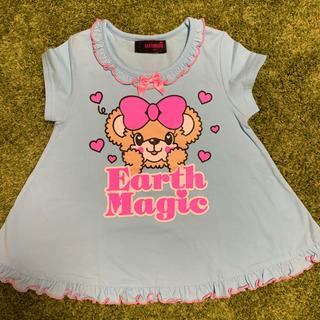 アースマジック(EARTHMAGIC)のTシャツワンピ(Tシャツ/カットソー)