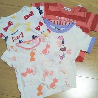 ムージョンジョン(mou jon jon)の女の子 80 まとめ売り(Tシャツ)