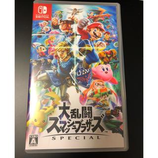 ニンテンドウ(任天堂)のスマブラ switch(家庭用ゲームソフト)