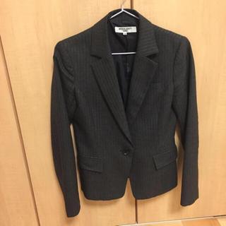 ナチュラルビューティーベーシック(NATURAL BEAUTY BASIC)のナチュラルビューティーベイシック スーツ 上下 グレー(スーツ)