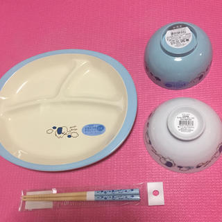 ニトリ 子供安全食器セット 新品、未使用