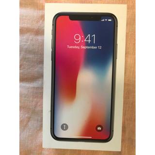 iPhoneX 64GB(スマートフォン本体)