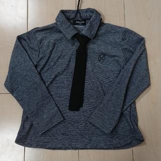 コムサイズム(COMME CA ISM)の1度のみ着用 コムサ フォーマル ネクタイ付長袖シャツ(ドレス/フォーマル)