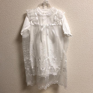 ニシマツヤ(西松屋)のセレモニードレス♡新品未使用(お宮参り用品)