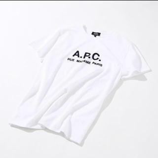 アーペーセー(A.P.C)の【値下げ交渉可能】A.P.C アーペーセー 刺繍ロゴ tシャツ (Tシャツ/カットソー(半袖/袖なし))