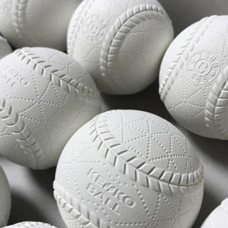 ナガセケンコー(NAGASE KENKO)の新品!軟式C球 1ダース(12球)(ボール)