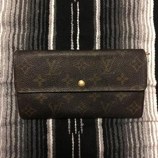 ルイヴィトン(LOUIS VUITTON)の長財布(長財布)