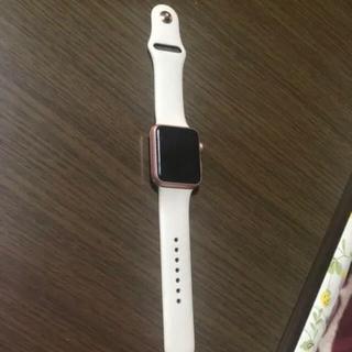 アップルウォッチ(Apple Watch)のApple Watch 42mm(腕時計(デジタル))