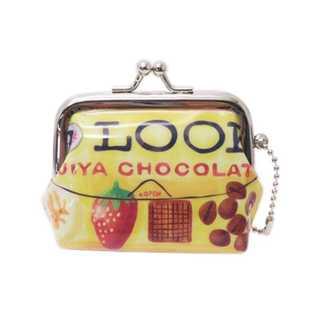 RM5776 不二家 ミニがまぐちポーチミルキー ペコちゃん ルックチョコレート