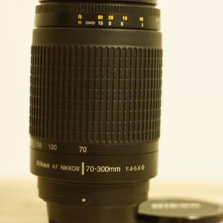 ■ Nikon AF Zoom Nikkor 70-300mm F4-5.6G