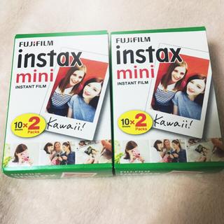 instax mini 10×2packs2個 40枚 FUJIFILM