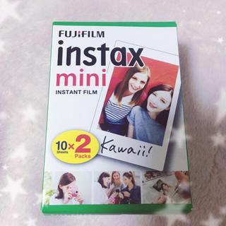 フジフイルム(富士フイルム)のinstax mini 10×2packs FUJIFILM(フィルムカメラ)