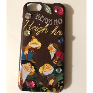 Disney - アコモデ×ディズニー 白雪姫 7人の小人 iPhoneケース