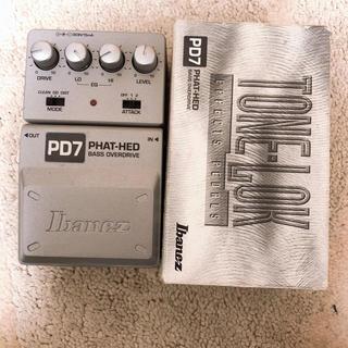 アイバニーズ(Ibanez)のIbanez PD7(ベースエフェクター)