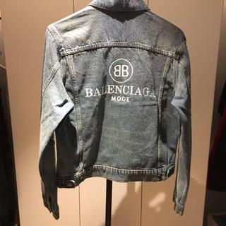バレンシアガ(Balenciaga)のBALENCIAGA バレンシアガ デニムジャケット サイズ48(Gジャン/デニムジャケット)