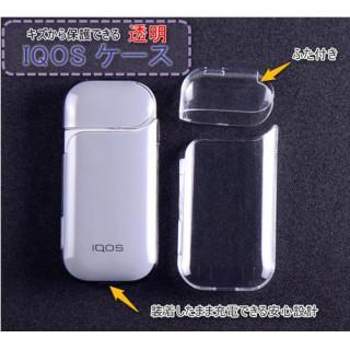 IQOS ケース 透明 保護ケース アイコスケース ふた付き PCケース クリア(その他)
