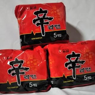 辛ラーメン5袋入り3セット(麺類)