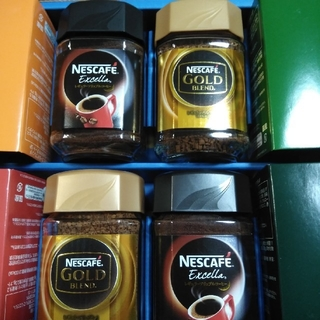 ネスレ(Nestle)のネスカフェコーヒー4本(コーヒー)