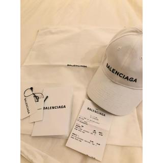 バレンシアガ(Balenciaga)の未使用品  付属品完備 BALENCIAGA バレンシアガ キャップ(キャップ)