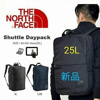 【新品未使用】THE NORTH FACE shuttle daypack25黒