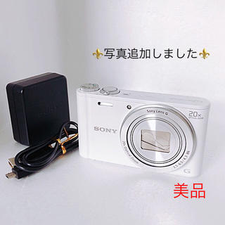 SONY✯デジタルカメラ Cyber-shot DSC-WX300 ホワイト