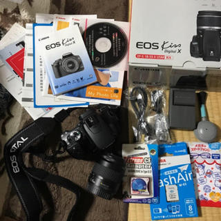 一眼レフ Canon EOS kiss digital X