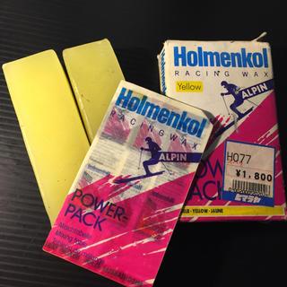 Holmenkol RACING WAX 【Yellow 】(その他)
