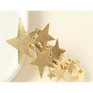 シューティングスター 流れ星 バレッタ 髪飾り ゴールド フォーマル カジュアル