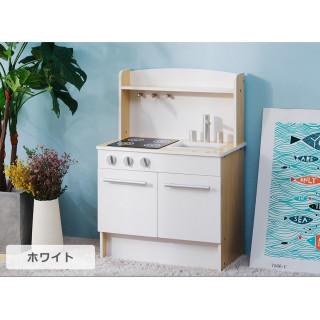 おもちゃキッチン 誕生日 木製 ミニキッチン 木のおもちゃ おしゃれ 知育玩具(知育玩具)