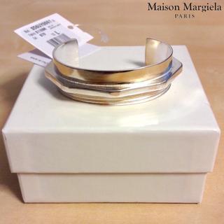 マルタンマルジェラ(Maison Martin Margiela)の新品■L■マルジェラ 17aw■ボルトナットコンビブレスレット■5124(ブレスレット)