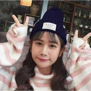 カップル ニット帽 紺色 ニット帽冬 ネイビー あったか かわいい 防寒