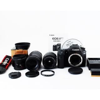 ★キャノン Canon EOS 80D 超望遠300mm トリプルレンズセット