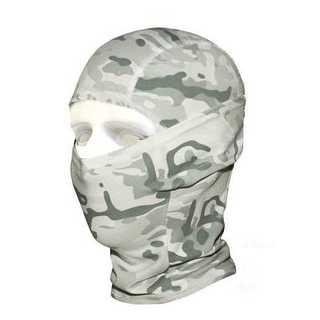 冬季迷彩 ただの目だし帽じゃない 高機能3Wayフェイスマスク ネックウォーマー