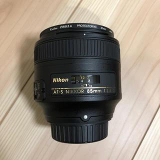 AF-S NIKKOR 85mm f/1.8G フィルター付 美品
