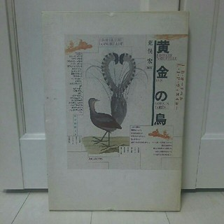 【希少】絶版本 黄金の鳥 荒俣宏 大型本 リブロポート