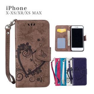 iPhoneケース 手帳型 アイフォン 手帳型ケース カードポケット付き