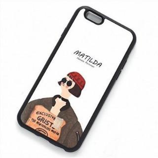 iphone6 iphone6s スマホカバー スマホケース TPU マチルダ