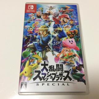 Nintendo Switch - switch 大乱闘スマッシュブラザーズ 新品同様 スマブラ